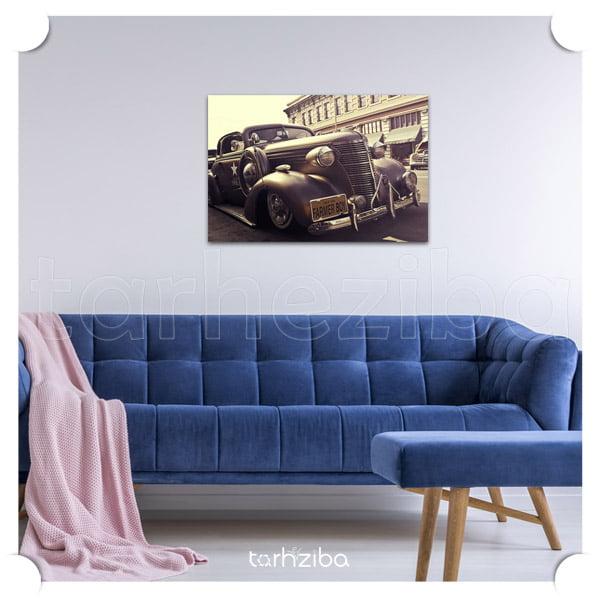 خرید تابلو خودروهای کلاسیک