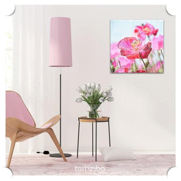 فروش تابلو تزیینی دکوراتیو شیک با طرح گلها