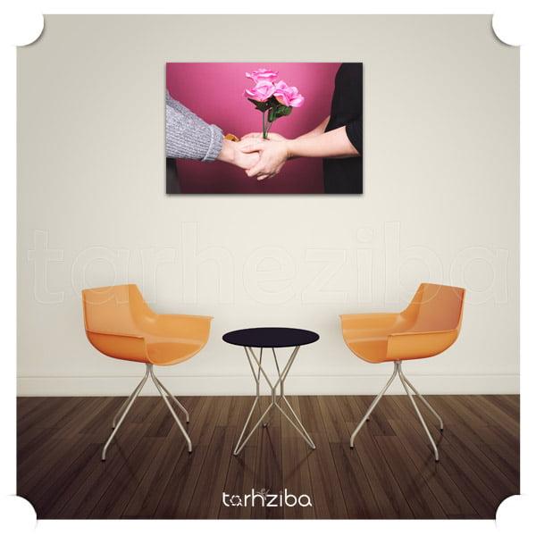خرید تابلو عاشقانه مفهومی و احساسی