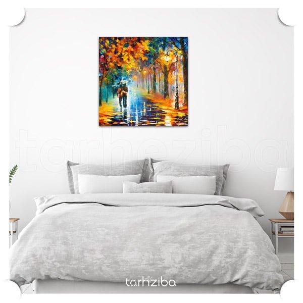 فروش تابلو دیواری با طرح عاشقانه و شیک. تابلو نقاشی چاپی